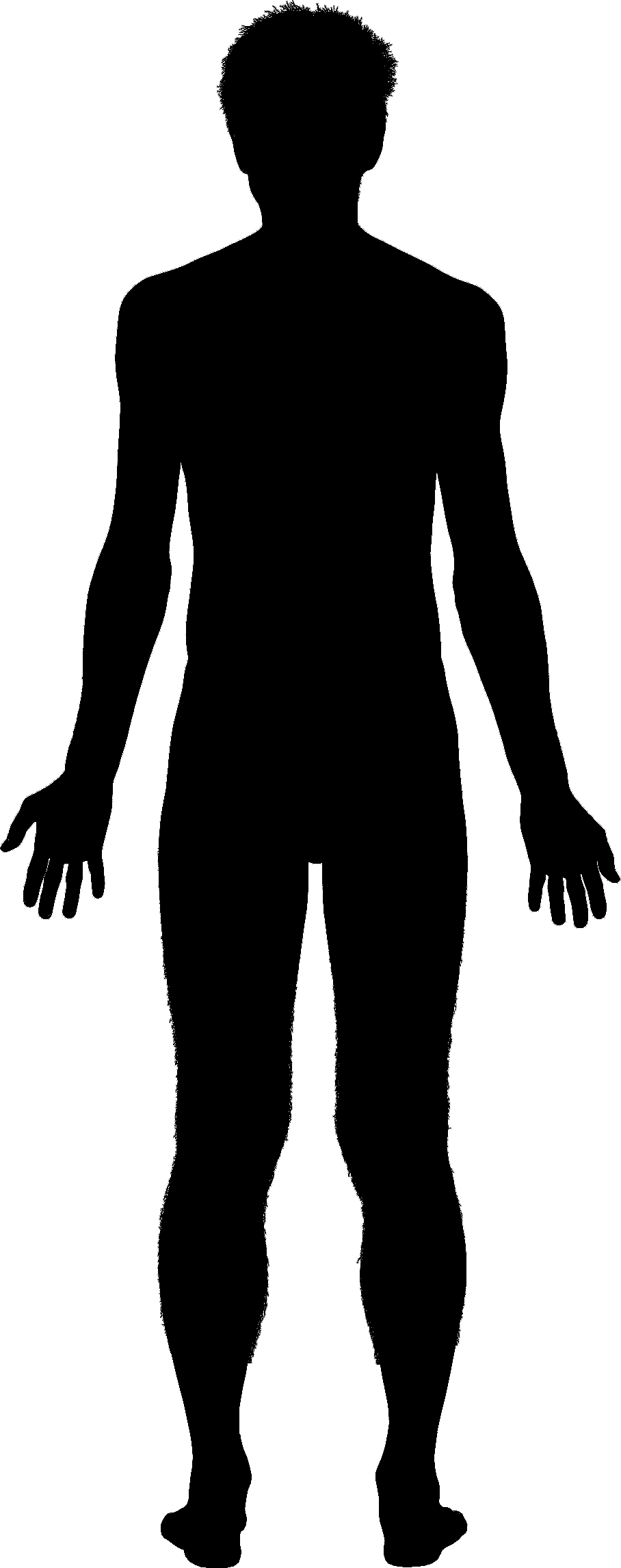 908 x 2291 · 39 kB · png, Man Body Outline