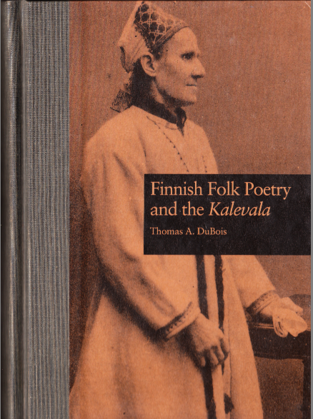 cover photo, Finnish Folk Poetry and the Kalevala