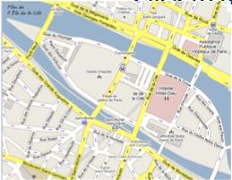 Bavloschcultural Explanations - Modern map of paris